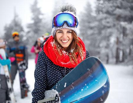 neck gaiter skiing