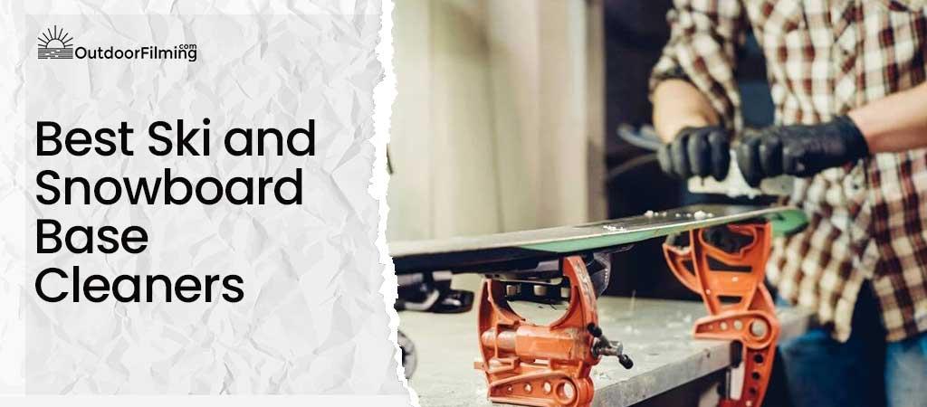 Best Ski and Snowboard Base Cleaners